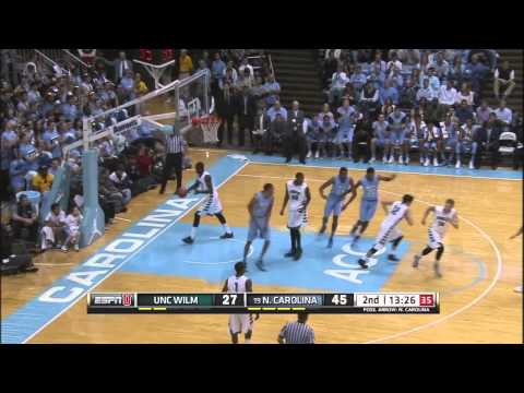 Video: North Carolina-UNC Wilmington Game Highlights