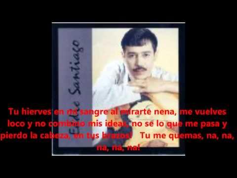 TU ME QUEMAS   Eddie Santiago  Con Letra