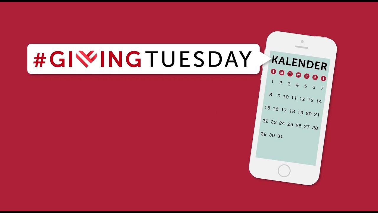 Video: Am 1. Dezember ist wieder #GivingTuesday!