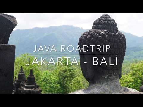Java Roadtrip Documentation: Jakarta - Bali By Car (Indonesia Islands 4k)