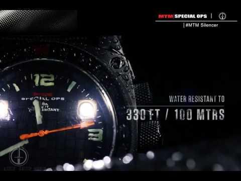 Видео - Часы MTM Black Silencer со стальным браслетом SIBSSMTM
