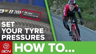 Bike Tyre Pressure Explained   Road Bike Maintenance