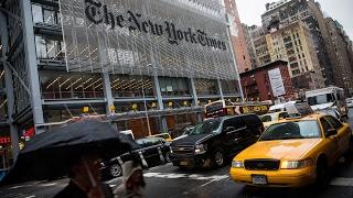 New York Times corrects Trump