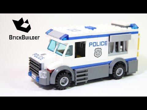 Vidéo LEGO City 60043 : Le transport du prisonnier