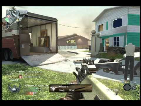 Call of Duty: Black Ops TDM NukeTown Commentary By x L 4 S S 3 x und xXHaMbUrGeR98Xx