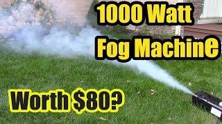 Is this 1000W Fog Machine Worth $80?