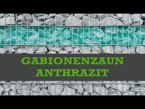 Gabionenzaun anthrazit