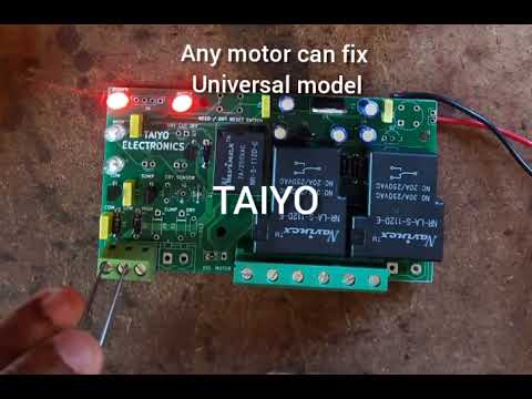 Universal Automatic water level controller pcb
