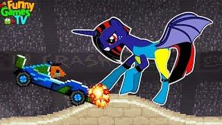 Новое видео для детей СЛОЖНЫЕ ЗАДАНИЯ игра как мультики машинки тачки гонки игра Drive AHEAD