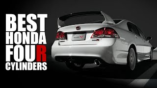 9 Most Notable Honda Four-Cylinder Engines
