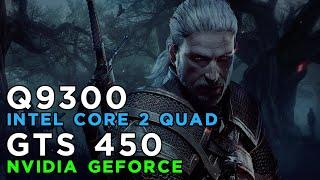 The Witcher 3 Wild Hunt (2015) Gameplay GeForce GTS450 - Intel Core 2 Quad Q9300 - 4GB RAM