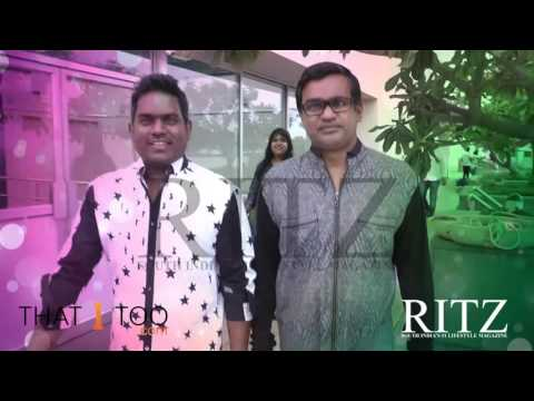 RITZ Exclusive! Making video of the photoshoot of ace director Selvaraghavan and music director Yuvan Shankar Raja