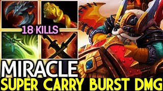 Miracle- [Gyrocopter] Super Carry Burst Damage Too OP Hero 7.21 Dota 2