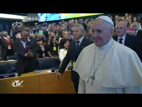 Visite du pape François à la FAO