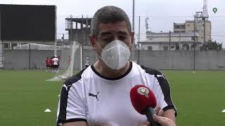 تصريح السيد عبد الرزاق هيفتي حول الحالة الصحية للاعبين