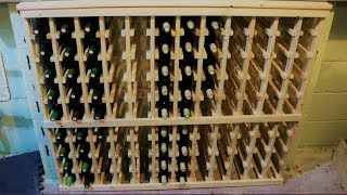 Homemade Wine Rack - Part 2: Wood Cutting And Assembly