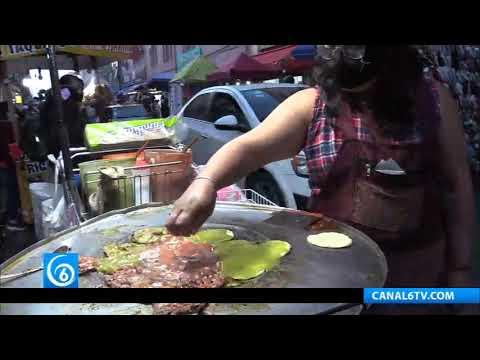 Salimos a vender a las calles por necesidad: Ambulante de Puebla