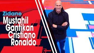 Ditinggalkan Ronaldo, Zidane Sebut Real Madrid Sulit Cari Penggantinya