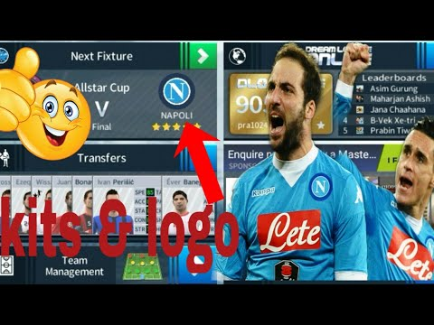 How To Create Napoli Team In Dream League Soccer 2019 - игровое