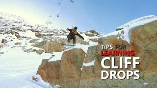 #20 Snowboard intermediate – Snowboarding tips for hitting cliff drops