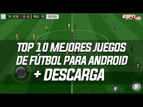 Ouvir Musica Top 10 Mejores Juegos De Futbol Para Android 2018