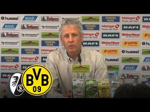 Vier Tore in Freiburg   PK mit Lucien Favre   SC Freiburg - BVB 0:4