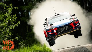 WRC Testing Finland - FLAT OUT & BIG JUMPS