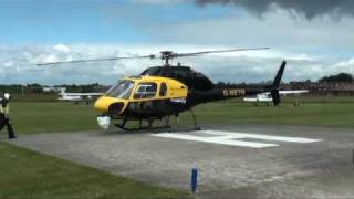 preview picture of video 'Network Rail Helicopter at Rochester'