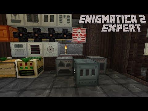 Enigmatica 2: Expert | Episode 7 | Better Storage - смотреть