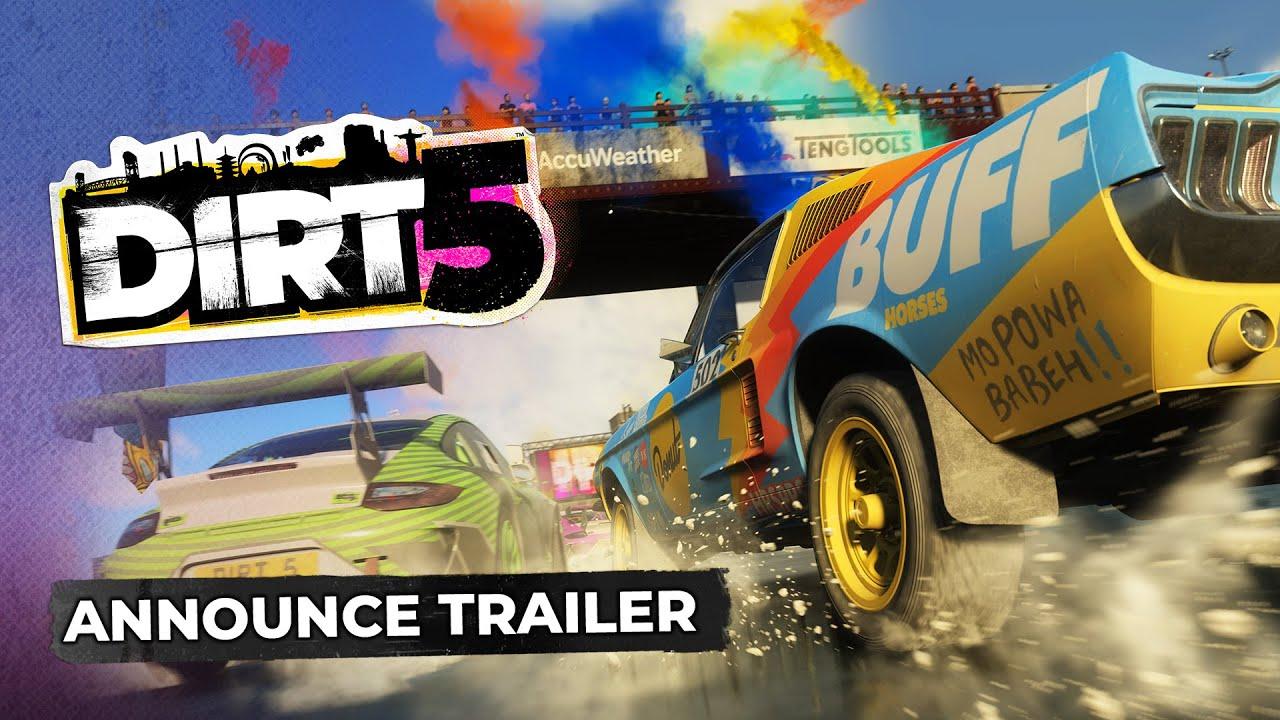 Обложка видео Трейлер игры DiRT 5