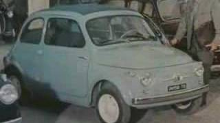 Spot Fiat 500 d'epoca