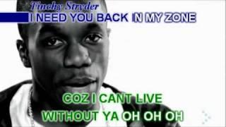 TINCHY STRYDER Ft. TAIO CRUZ - TAKE ME BACK (KARAOKE) Instrumental