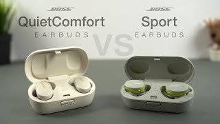 Bose QuietComfort vs Sport Earbuds In-Depth Review   The Real ANC King