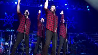 "98 Degrees singing ""Hardest Thing"" & ""Have Yourself A Merry Little Christmas"""