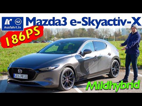 2021 Mazda3 e-Skyactiv-X 2.0 MHEV MT6 Selection - Kaufberatung, Test deutsch, Review, Fahrbericht
