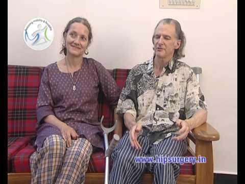 Hip Resurfacing India- American patient testimonial