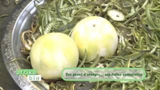 Des peaux d'orange, aux huiles essentielles. (#030)