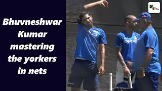 Watch: This is how Bhuvneshwar Kumar is mastering the yorkers at Adelaide Oval