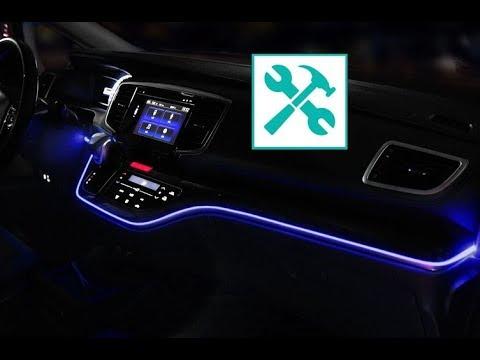 2019 Honda Odyssey / DASHBOARD led AMBIENT light RETROFIT