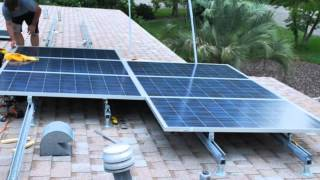 DIY Solar 5 kW Roof System Installed in a Weekend