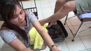 [FOOT SPA & FOOT SCRUB PHILIPPINES] 발 케어 풀서비스  발마사지 스파 ASMR  Foot Spa & Foot Scrub Services.