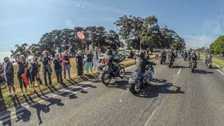 preview picture of video 'Thousands of Motorcycles Ride in 2014 Cranbourne Moto GP Run'