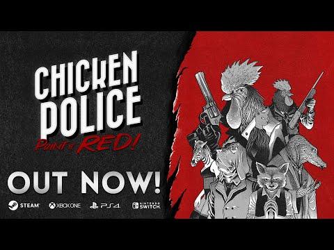 Release Gameplay Trailer de Chicken Police: Paint it RED!