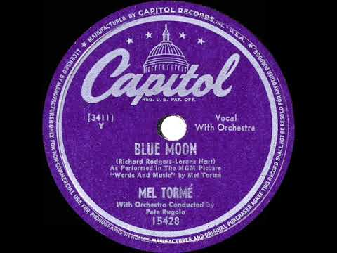 1949 HITS ARCHIVE: Blue Moon - Mel Torme