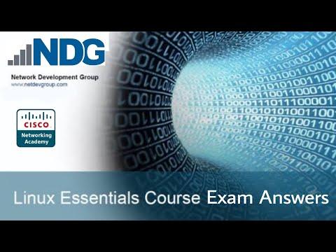 CISCO NDG Linux Essentials Course Exam Solutions   All 21 Exams ...