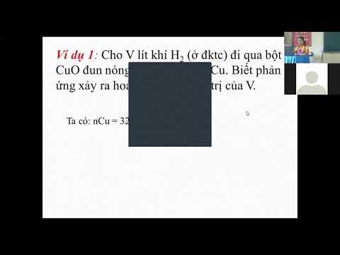 Môn Hóa học khối 9 - Khử Oxit Kim Loại bằng Cacsbon oxit và Hidro - Nguyễn Minh Thu -THCS Bình Thuận