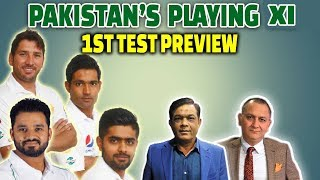 Pakistan's playing XI   1st Test Preview   Caught Behind