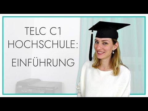 telc Deutsch C1 Hochschule | Einführung