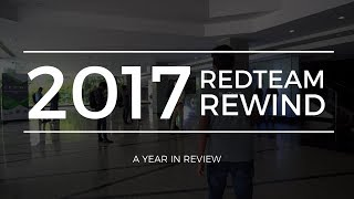 #RedTeamRewind2017 | A Year in Review | RedTeam Calicut