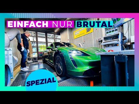 Porsche Taycan auf ADAC Prüfstand - Wenn Elektro ALLES rasiert